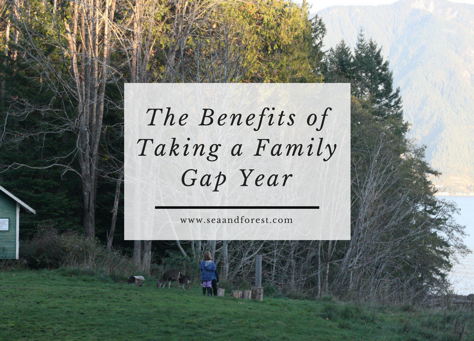 The Benefits of a Family Gap Year